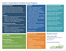 A preview of the Rural Incentive Grant At-A-Glance document